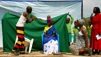 Child Africa deaf children