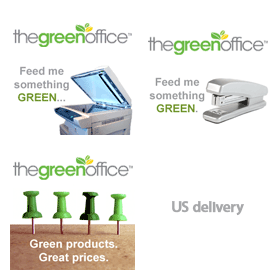 Shop green products for the office with 110% price-match guarantee