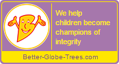 Bingwa seal - We help children become champions of integrity