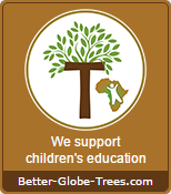 Child Africa seal - We support children's education