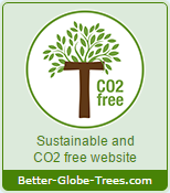 CO2 free seal - Sustainable and CO2 free website