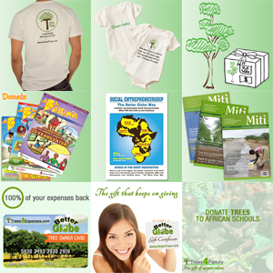 organic t-shirt, trees, donation packages, organic baby bodysuit